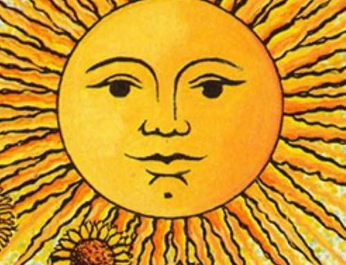 Tarotpatroon Zonnestralen